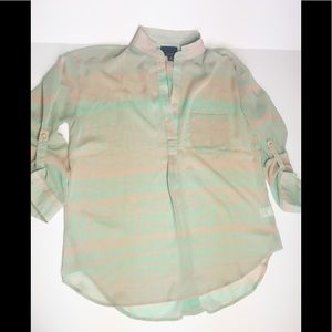 Lumiere sheer blouse